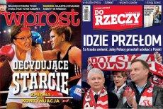 Od tandetnej przeróbki w Photoshopie po Piłsudskiego, czyli festiwal przedwyborczych okładek tygodników czas zacząć