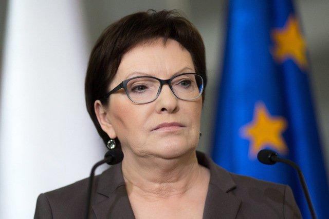 Premier Ewa Kopacz w sobotę była z wizytą w Płocku.