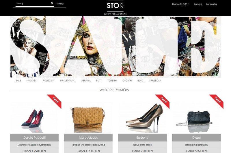 Strona startowa Store Story