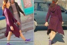 Kobieta, która wyszła na ulice Kabulu z odsłoniętymi nogami, wywołała niemałe poruszenie