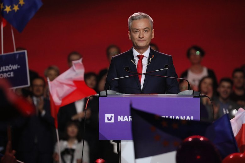 Mieszkańcy Słupska zamiast Wiosny Roberta Biedronia wybrali Koalicję Europejską.