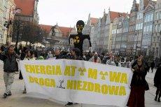 Protesty przeciwników energii atomowej w Polsce