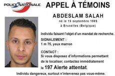 Salah Abdeslam wciąż przebywa na wolności
