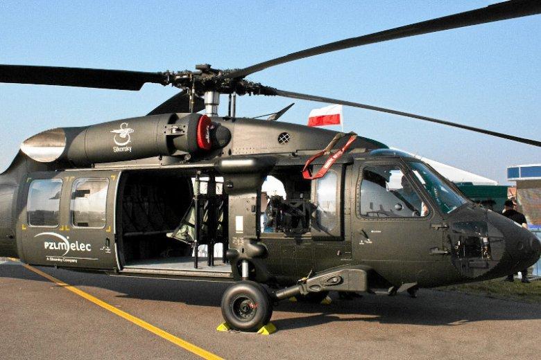 Zdaniem posła Żmijana polska policja będzie użytkowała dwa śmigłowce typu Blackhawk.