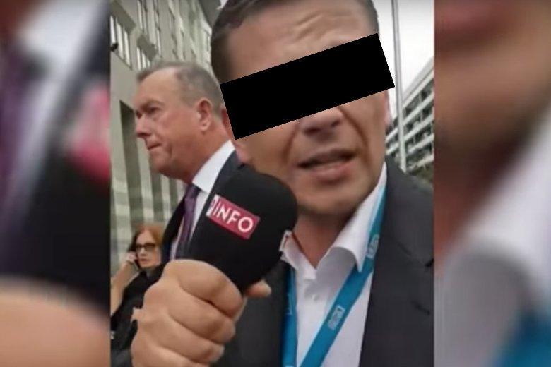 Łukasz S. zawieszony w TVP.
