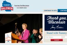 Tammy Baldwin jest pierwsząw historii USA senatorką-lesbijką.