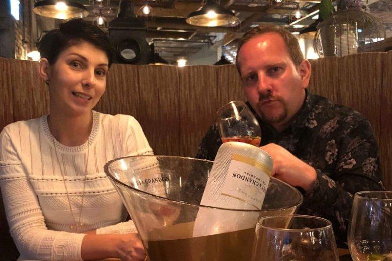Zdaniem Rafała Banacha, smaku szampana nie da się zastąpić żadnym innym trunkiem
