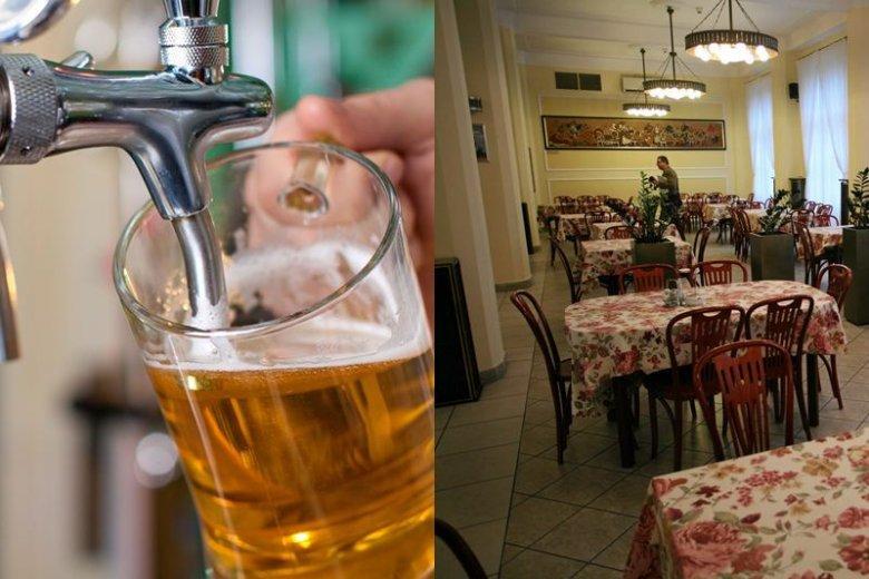 Sejmowa restauracja Hawełka - miejsce, gdzie posłowie chętnie raczą się alkoholem.