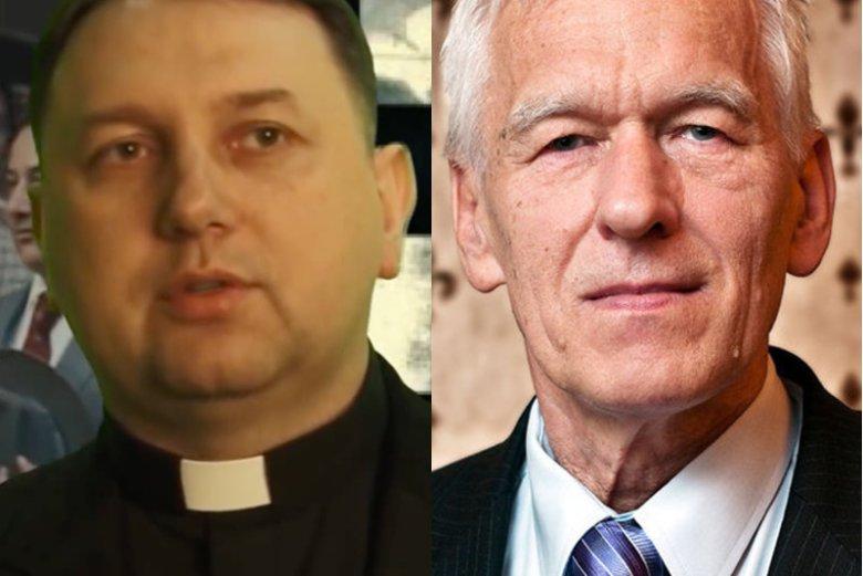 Ks. Tomasz Jegierski żąda od Kornela Morawieckiego zwrotu pieniędzy. Polityk zapewnia, że nie było żadnej pożyczki.