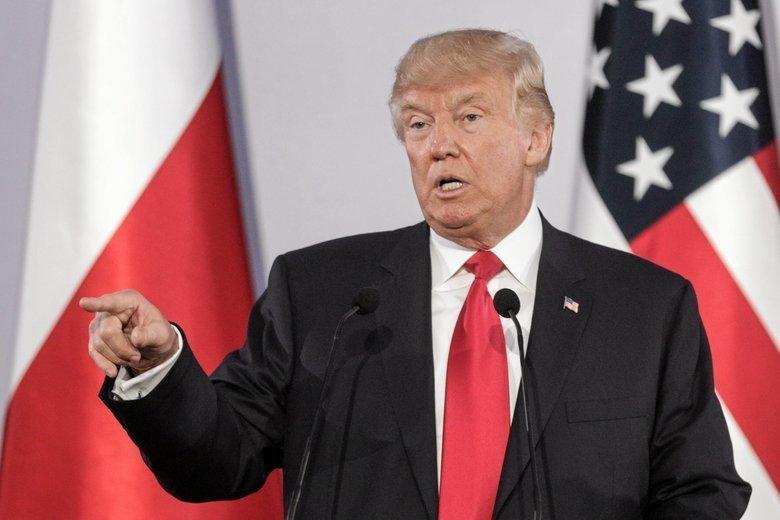 Donald Trump zapowiedział, że chce przyjechać do Polski.