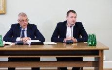 Michał Tusk stawił się na przesłuchanie przed sejmową komisją ds. Amber Gold.
