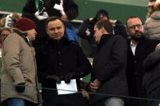 Andrzej Duda zaliczył wpadkę po meczu Legii ze Sportingiem.
