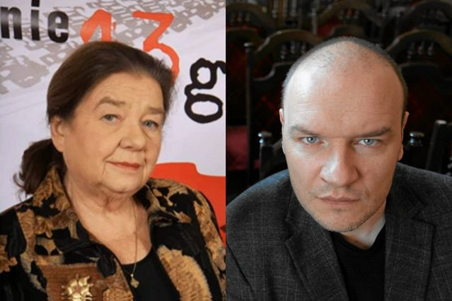 Katarzyna Łaniewska i Redbad Klijnstra,