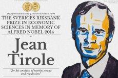 Tegorocznym laureatem Nagrody Nobla w dziedzinie ekonomii został Jean Tirole