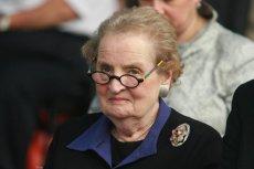 Madeleine Albright, była sekretarz stanu jest cenionym w Białym Domu specjalistą. Wielokrotnie gościła w Polsce.