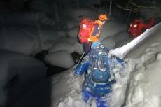 Przez nieodpowiedzialność Polaków w Alpach trzeba było przeprowadzićkilka trudnych akcji ratunkowych.