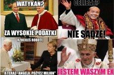 To tylko kilka z dziesiątek memów o rezygnacji Benedykta XVI