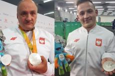 Pierwsi polscy paraolimpijczycy z medalami.