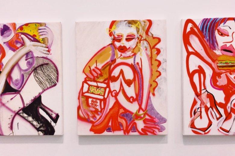 Prace Chelsea Culprit przyciągają wzrok od razu po wejściu na wystawę
