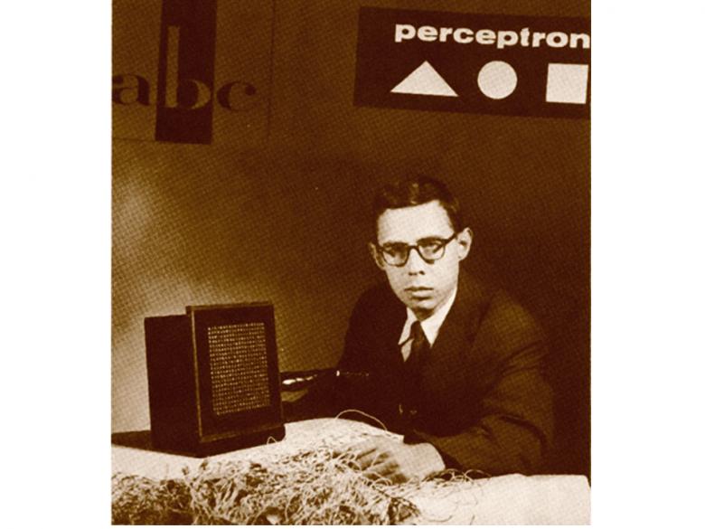 Rosenblatt ze zbudowaną cyfrową kamerą