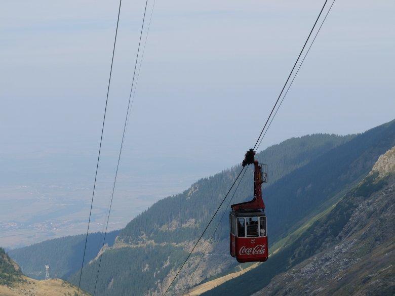 Góry Fogaraskie, widok z Trasy Transfogaraskiej, Rumunia.