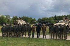 Andrzej Duda i Mariusz Błaszczak obiecali dodatki dla żołnierzy na śląskim poligonie w Gliwicach.
