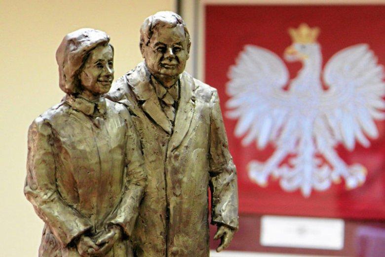 W Dębicy stanie pomnik Lecha Kaczyńskiego (na zdjęciu projekt pomnika z Radomia)