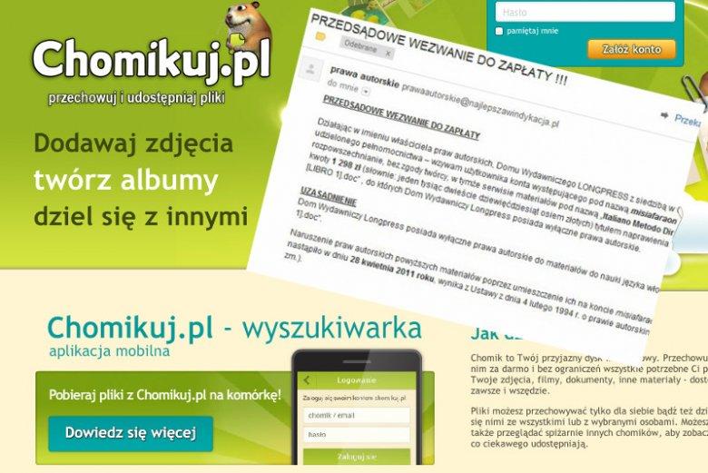 Pozwy i wezwania do zapłaty za udostępnienie materiałów do nauki języków obcych