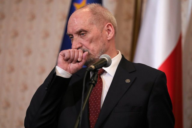 Szef MON Antoni Macierewicz.