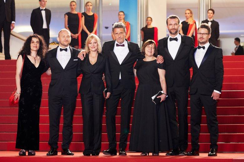 Ekipa filmu na czerwonym dywanie w Cannes