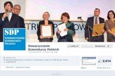 """Facebook uznał adres sdp.pl za """"niebezpieczny"""""""