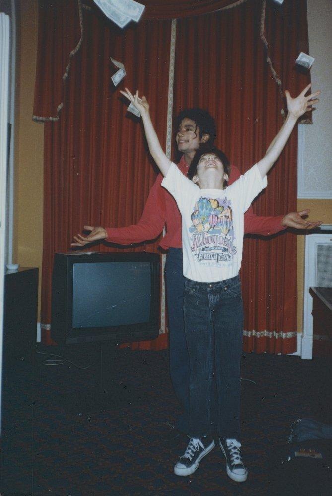 MJ i 10-letni James