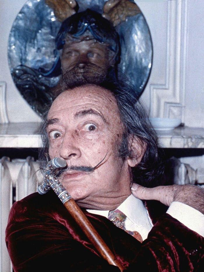 Salvador Dali i jego brat Salvador Dali
