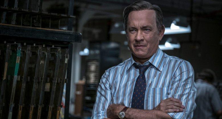 Tom Hanks w roli Bena Bradlee'ego powala na kolana.