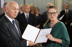 Posłanka Magdalena Biejat debiutuje w Sejmie. Jest członkinią Partii Razem, a do parlamentu weszła z warszawskiej listy Lewicy.