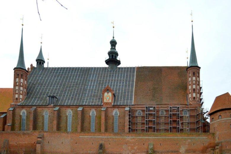 Katedrę we Fromborku wybudowano prawie 700 lat temu.