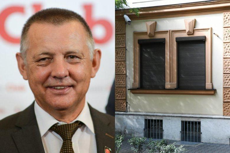 """Marian Banaś sprzedał swoją kamienicę w Krakowie potentatom z branży mięsnej z Nowego Sącza - podała """"Rzeczpospolita""""."""