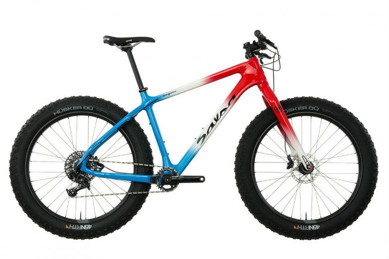 SALSA BEARGREASE CARBON – wypasiony fat bike z włókna węglowego, koszt to ok. 21 000 zł