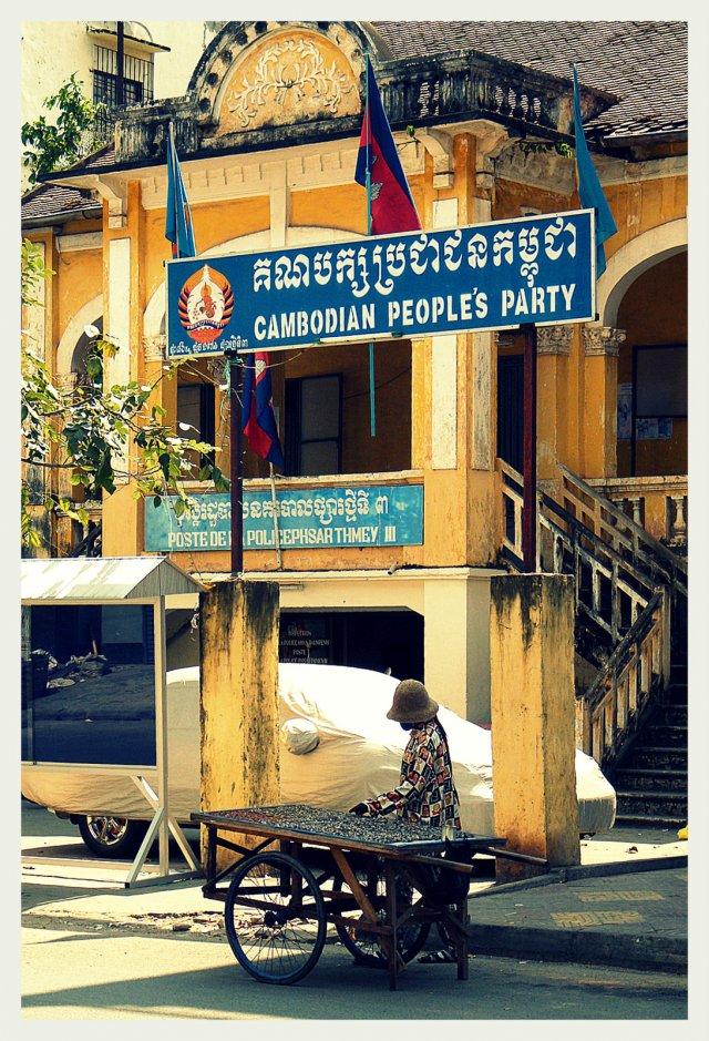 Siedziba Kambodżańskiej Partii Ludowej (CPP) w Phnom Penh