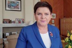 Wicepremier Beata Szydło nagrała swoje życzenia na Wielkanoc i też zawarła w nich przesłanie polityczne...