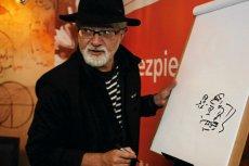 Satyryk i rysownik Henryk Sawka idealnie podsumował nową narrację PiS na wybory do Parlamentu Europejskiego.
