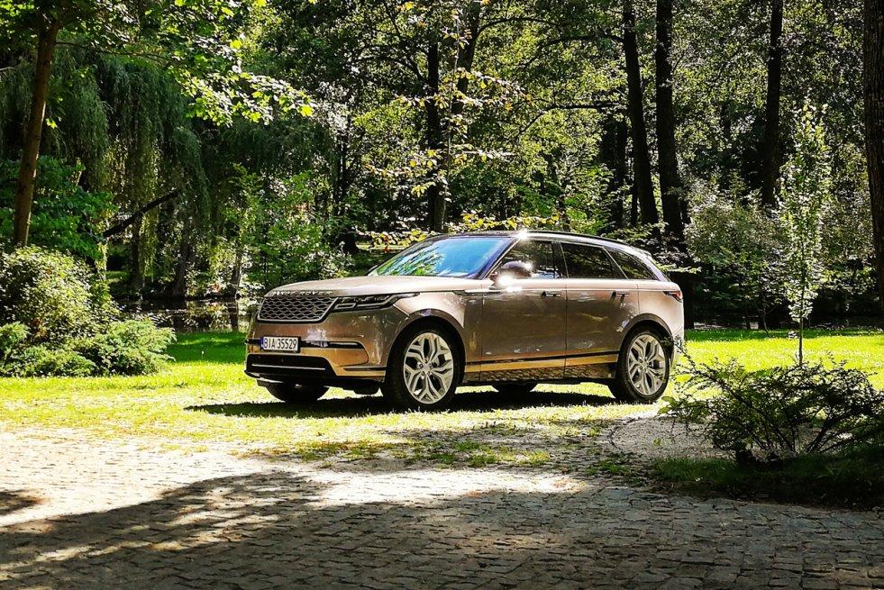 Nowy Range Rover Velar prezentuje się naprawdę okazale.