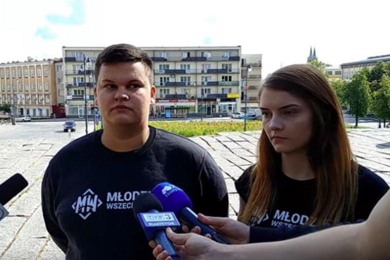 """Konferencja MW bez słowa """"przepraszam""""."""