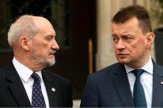 To Mariusz Błaszczak ma stać za ostatnimi decyzjami personalnymi  w Polskiej Wytwórni Papierów Wartościowych.