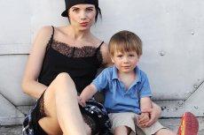 Magda Waluch, czyli Soie, wraz z synkiem Antkiem.