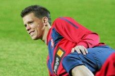 Wojciech Szczęsny nawet na boisku potrafi tryskać dobrym humorem.