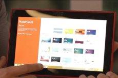 Nokia Lumia 2520 jest fabrycznie wyposażona w pakiet Microsoft Office