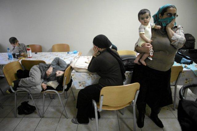 W ośrodkach dla uchodźców Czeczenów jest najwięcej