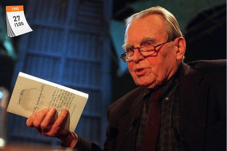 Czesław Miłosz był trzecim w historii polskiej literatury noblistą. Prestiżową nagrodę literacką otrzymał w 1980 roku za całokształt twórczości