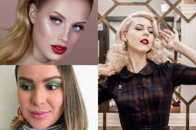 Retro make-up idealnie pasuje na imprezę tematyczną